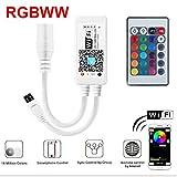 WIFI RGBW Led Streifen Kontrolleur Fernbedienung Steuerung Controller WLAN mit Fernbedienung für Android und Ios