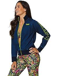 Zumba Fitness Damen WT Outerwear Mashed Up Zip Jacket