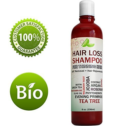 Best Hair Loss Shampoo Potent Hair Loss Fighting Formula 100{d9cd8b6079cccf3eca2052ac6d99c11a0d3dac8ed857153099d21be96da5cb18} Natural Topical Regrowth Treatment Restores Hair Stops Hair Shedding Contains Biotin Rosemary Coconut Oil For Women and Men by Honeydew
