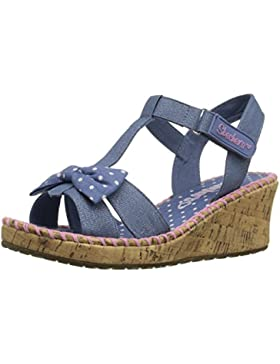 Skechers Tikis-Dots-n-Dazzle, Heels Sandals Para Niñas