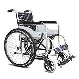 Tx Rollstuhl Faltbarer tragbarer Alter Leute-Roller reparierte Schemel-Sicherheitsgurt das größte Lager 100kg Größe: 103 * 66.5 * 90cm