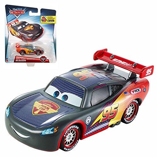 Matchbox Disney Cars (Disney Cars Cast 1:55 - Auto Fahrzeuge Carbon Racers zur Auswahl, Cars Carbon Racer:Lightning McQueen Flash)