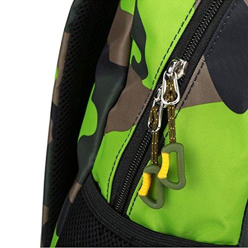 zaino trekking Casual zaino mimetico bambini Outdoor Leisure pacchetto 20L viaggio Picnic Package (39 * 17 * 28cm) Zaini da escursionismo ( Colore : A , dimensioni : 20L-39*17*28cm ) A