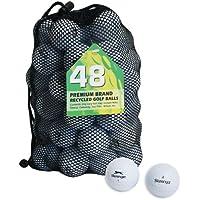 Second Chance Slazenger Set 48 Palline da Golf, Categoria A, Bianco, 48