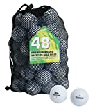 Second Chance Slazenger Set 48 Palline da Golf, Categoria A,...