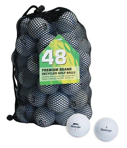 Second Chance Slazenger Set 48 Palline da Golf, Categoria A,
