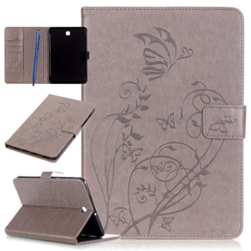 "CareyNoce Galaxy Tab S2 8.0 Tablette Hülle,Painted Prägemuster Design PU Leder Abdeckung Stand Flip Schutzhülle Hülle für Samsung Galaxy Tab S2 8.0\"" SM-T710/T715"