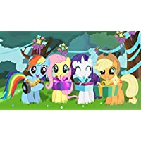 My Little Pony Rainbow Dash Applejack Rarity