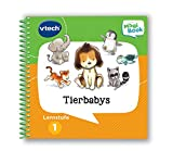 Vtech 80-480004 Lernstufe 1-Tierbabys MagiBook Lernbücher, Mehrfarbig