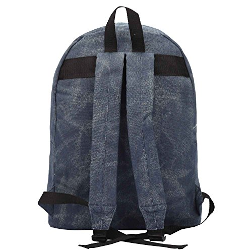 Canvas Backpack Rucksack - Girls Ladies Womens Casual Daypack Bags - 15  COLOURS - 20 Litre Medium School Hand Luggage Size Backpacks - Classic  Settlement ... c4f4e4bb48