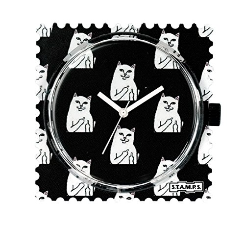 S.T.A.M.P.S. Stamps Uhr Zifferblatt Cat you 104807