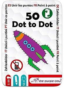 "The Purple Cow- The ""50"" Series - Juego To Go - 50   Puzzles Diferentes para niños  5+"