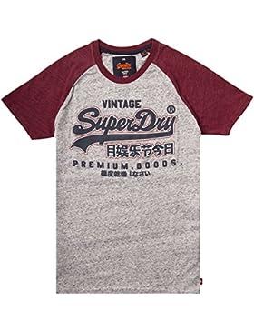 Superdry Premium Goods Raglan Tee, Camiseta para Hombre