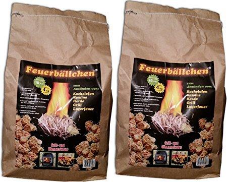 Preisvergleich Produktbild EiFi Feuerbällchen Anzünder, Braun (8 KG)