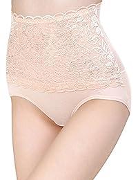 Sanwood Damen Unterhose Höschen Hohe Unterwäsche Underpants