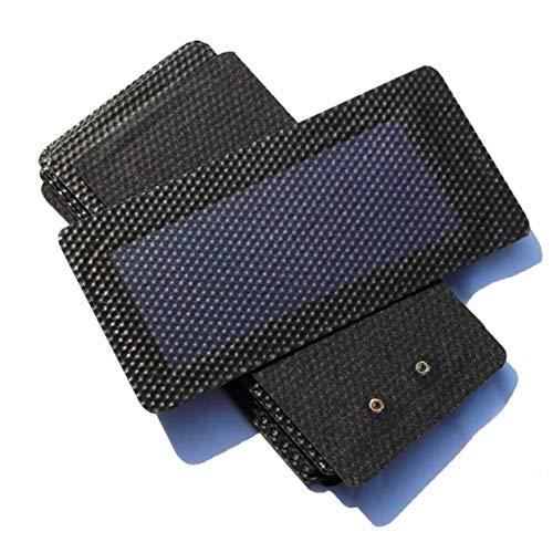 Amorphes Panel (LoveOlvidoD 1 stück 0,3 watt 2 v Wasserdichte Faltbare sonnenkollektor DIY batteriezelle Flexible amorphe silikon membran solaraufladung Panel)