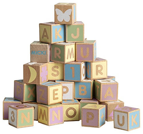 Micki 10-2163-00Alphabet Blocks Set (Baby-blöcke)