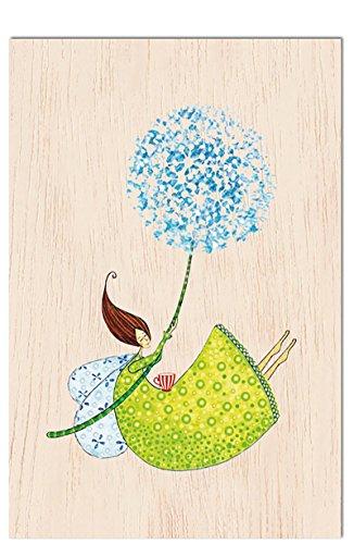 Cozywood® carta di legno - cartolina postale | motivi vari ogni carta è individuale e unico | cartolina d'auguri | congratulazioni | matrimonio | nascita del ragazzo o ragazza | compleanno | certificato fsc | ecologicamente sostenibile, # cozywood:hold your dreams