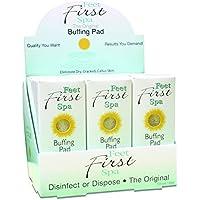 Feet First Spa Buffing Pad - 24 Pack by Healthy Glow, LLC preisvergleich bei billige-tabletten.eu