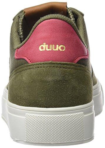 DUUO Radio, Baskets Homme Vert (kaki)