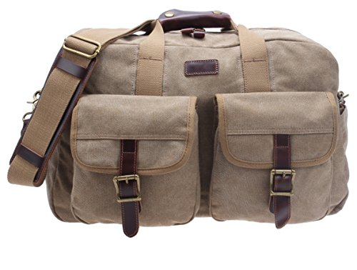 canvas-travel-overnight-gym-tote-leather-weekender-small-duffel-holdall-baghd01-khaki