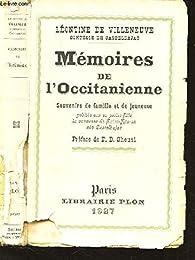 Mémoires de l'Occitanienne par Léontine de Villeneuve