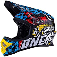 Casco Mx Oneal 2016 3Series Wild Multi (M , Azul)