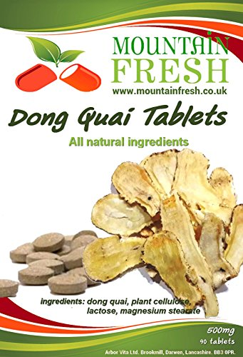 Dong Quai All Natural Tablets 90 x 500mg FREE UK Postage Test