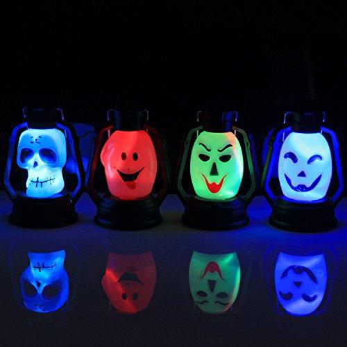 Hunpta Halloween Sneaky Kürbis Schädel Hexe Lampe Lerosin Lampe Mit Schatten (Kostüm Sneaky)