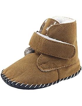 Krippe Stiefel Baby Jungen Winter Warm Weich Anti-Rutsch Neugeboren Schuhe Gemütlich SOMESUN Shoes
