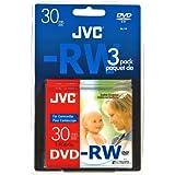 JVC DVD-RW 1.4Go 8cm Pack de 3 mini dvd pour camescope VD-W14N3