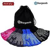 Best Yoga Gloves - Stargoods Yoga Gloves - Pack of 4 Non Review