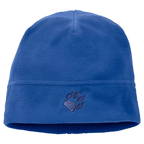 Jack Wolfskin Kinder REAL Stuff Kids Mütze, Coastal Blue, ONE Size (49-55CM)
