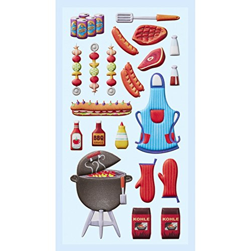 Klebe Stofty Sticker Grill Party (Grill Element)