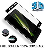 DN-Alive Nokia 8 Screen Protector, Nokia 8 Tempered Glass, [Compatible With Nokia 8 Case] [Scratch Proof] [Shatter Proof] [9H Hardness] [HD Clearity] Screen Protector