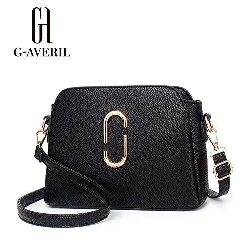 G-AVERIL, Borsa a mano donna Nero Black Black