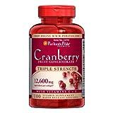 Dreifach starkes Cranberry Fruchtkonzentrat 12.600mg 100 Softgels