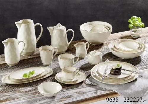 Ritzenhoff & Breker Geschirr-Serie Cottage Größe Servierplatten-Set 3 tlg. Oval Cottage
