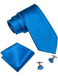 Barry.Wang - Corbata - para hombre azul azul marino Talla única