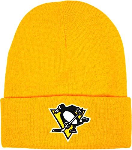 Mitchell & Ness, berretto da adulto, Uomo, NHL PITTSBURGH PENGUINS (EU175) (Yellow), Taglia unica