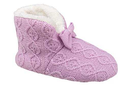 gibra , Chaussons pour femme 42 Lilas