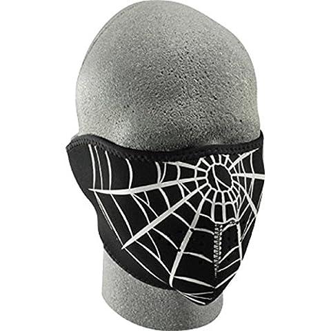 Zan Headgear Spider Men's Neoprene Half Face Mask On-Road Racing