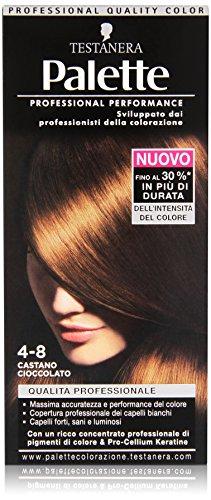 Testanera - Palette Castagno Cioccolato 4.8, Qualita' Professionale - 1 confezione