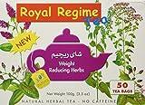 Royal Regime Tea è un integratore alimentare in forma di tisana composto da una miscela di erbe naturali per la regolazione delle funzioni intestinali. Royal Regime Tea è una tisana 100% naturale, costituita da una miscela di piante officinali biolog...