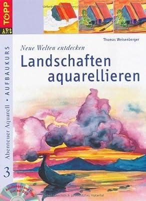 """""""Neue Welten entdecken: Landschaften aquarellieren"""": Anleitungen und Tipps live auf DVD von Frech bei TapetenShop"""
