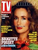 TV MAGAZINE L'UNION [No 13405] du 30/07/1988 - ROGER ZABEL - BRIGITTE FOSSEY - ALAIN JEROME
