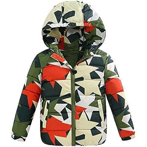 Chaquetas Abrigo Ropa para niños Camuflaje Abrigos Traje de nieve de invierno