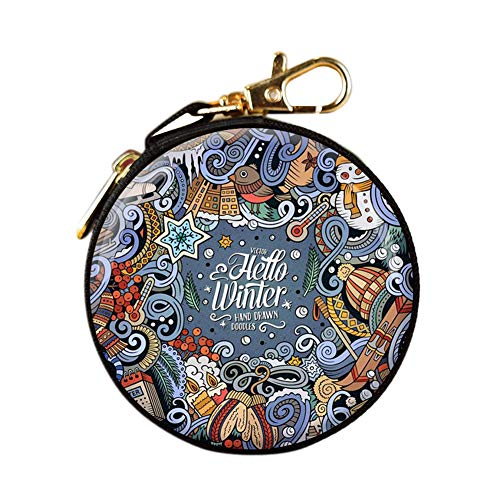 Dekorationen mit rundem Reißverschluss, Geldbörse, Kopfhörer, 3# ()