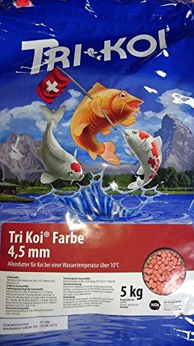 Tri Koi couleur – de qualité koifutter – 4,5 mm