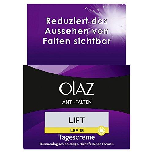 Olaz Anti-Falten Lift Anti-Aging-Tagescreme mit LSF 15, Tiegel, 1er Pack (1 x 50 ml)